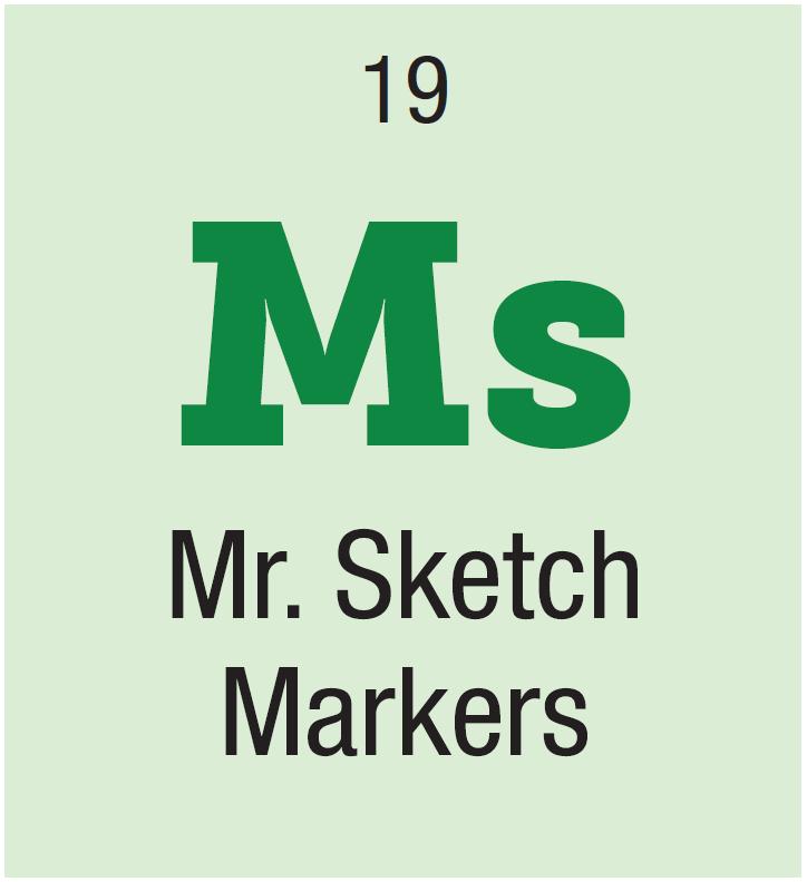Mr Sketch flip chart markers