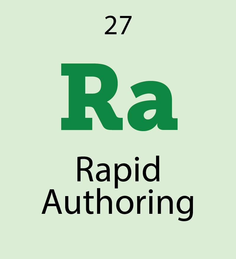 rapid authoring