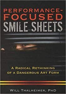 Performance focused smile sheets