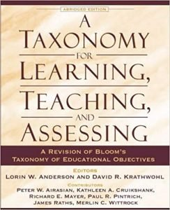 Taxonomy Learning Teaching Assessing