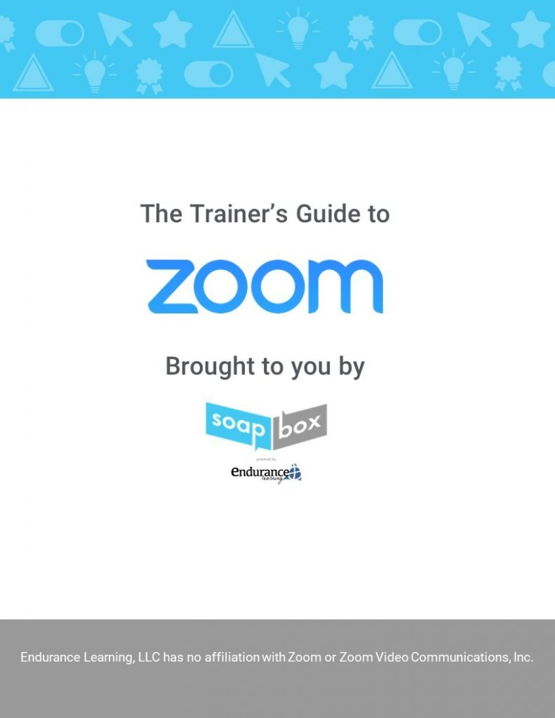 Training guide to Zoom